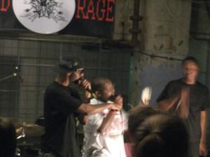 ECOMOG onstage and blurry at NerdRage